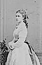 1868 (probably) Princess Louise standing portrait by W. & D. Downey