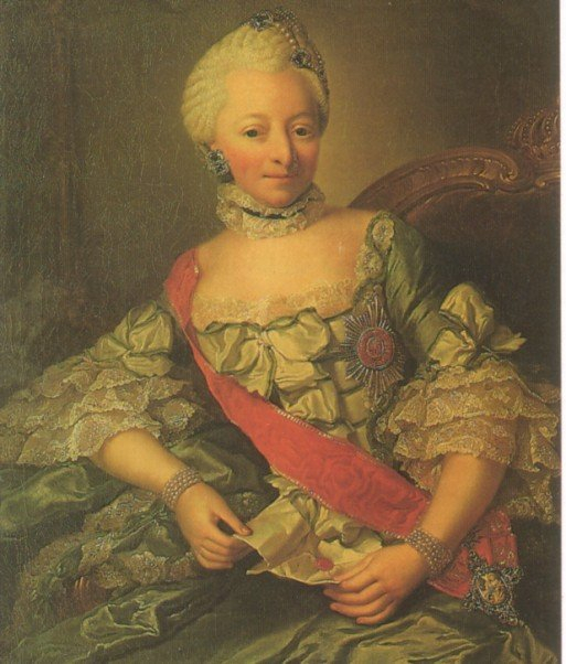 Louise Friderike von Wuerttemberg by Georg David Matthieu (location unknown to gogm)