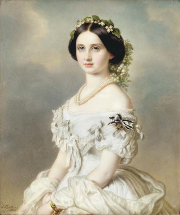 Louise, Grand Duchess of Baden by J. Spelter (auctioned by Christie's) despot