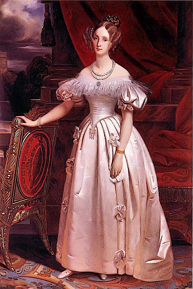 Louise Marie d'Orleans Клод-Мари Dubufe