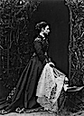 Princess Louise wearing a dark dress