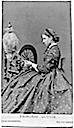 Princess Louise at a spinning wheel by Hills & Saunders