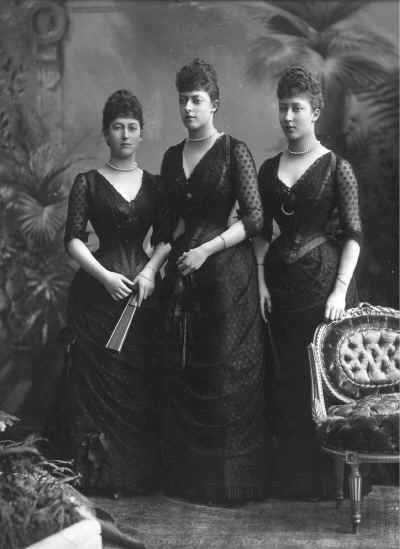 1889 Maud, Toria, and Louise