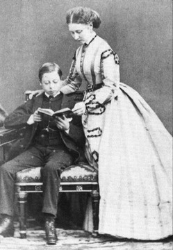 Princess Louise and Prince Leopold