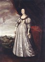 Ludwika Maria Gonzaga, Queen of Poland by ? (location unknown to gogm)