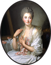 Madame de Courcelles at Her Toilette by Jean Baptiste Greuze (private collection)