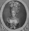 Madame Elisabeth, sister of Louis XVI by ? From pinterest.com:Rosannaroses:18th-century: deprint detint X 1.25