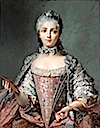 1756 Madame Adelaide pastel probably by Perronneau after Jean-Marc Nattier