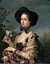 Madame de Pompadour by Charles-Andre (Carle) van Loo (location unknown to gogm)