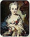 Madame Pompadour by Rosalba Carriera (location unknown to gogm)