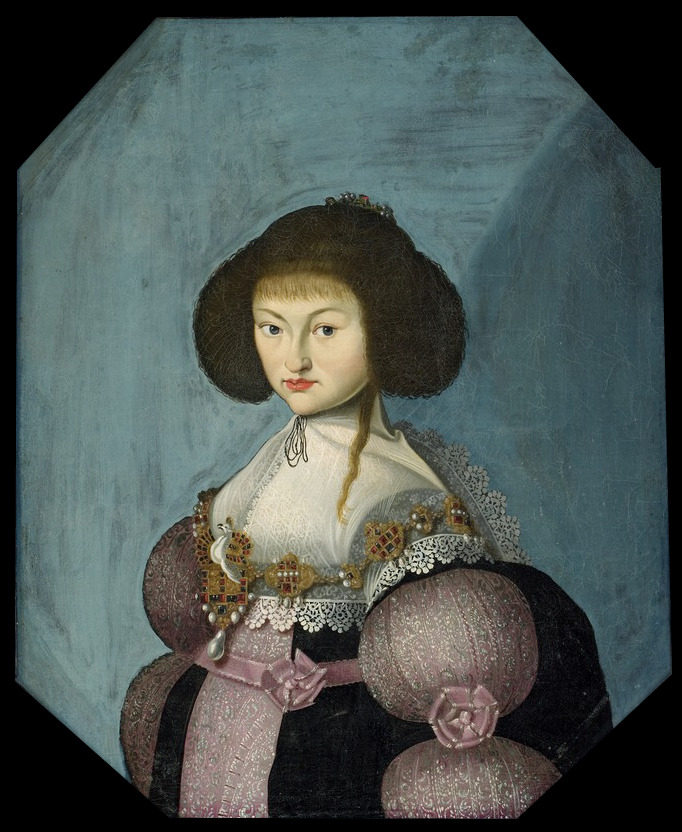 Magdalena Sibylla of Saxony, Princess of Denmark by Morten Steenwinckel (location unknown to gogm) From jeannepompadour.tumblr.com-post-66778871986-portrait-of-magdalena-sibylla-of-saxony-princess