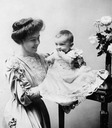 Crown Princess Margaret and son
