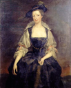 Margaret, Countess of Orford wearing a Reubenesque costume by a followe ofHerman van der Mijn (private collection)