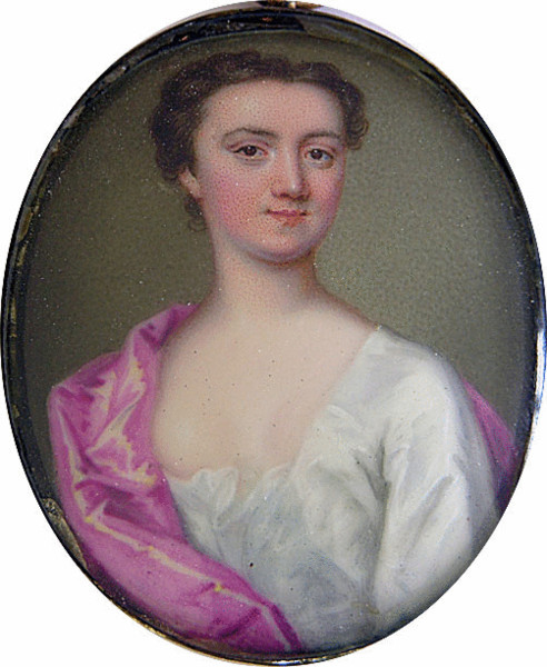 Margaret Cavendish Bentinck, (nee Lady Cavendish Harley) Duchess of Portland by Christian Frederick Zincke from onlinegalleries