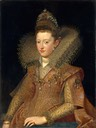Margarita Gonzaga, Duchess of Lorraine by Frans Pourbus the Younger (Metropolitan Museum)