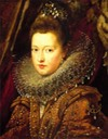 Margarita Gonzaga, gobernadora de Portugal by Peter Paul Rubens (location ?) From the lost gallery's photostream on flickr fixed left half of upper edge