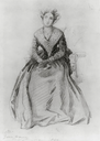 Marguerite, Countess of Blessington drawing