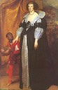 1634 Henrietta of Lorraine with Page by Sir Anthonis van Dyck (Kenwood House - Hampstead, London UK)