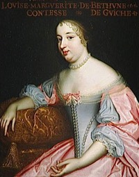 Marguerite-Louise-Suzanne de Bethune Sully, Comtesse de Guiche by the Beaubrun brothers studio (Châteaux de Versailles et de Trianon - Versailles, Île-de-France, France) photo credit - Daniel Arnaudet:Gérard Blot