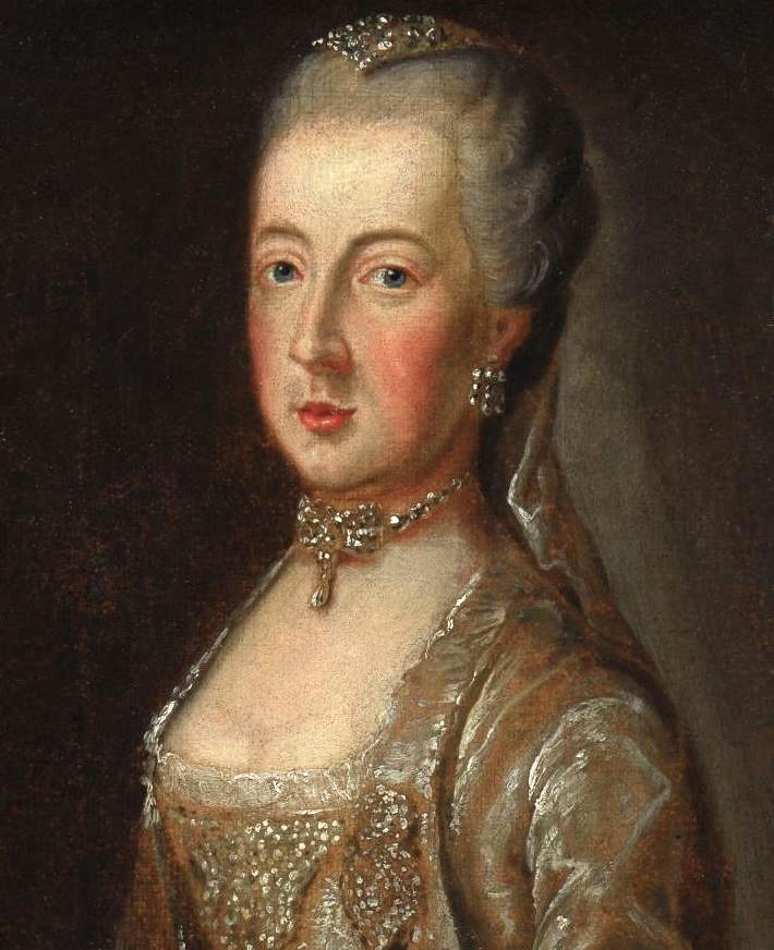 Maria Amalia, Duchess of Parma by ? (location ?) lost gallery despot