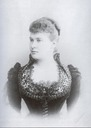 Maria Pavlovna in evening dress