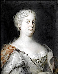 Maria Amalia (1701-1756) of Austria by Rosalba Carriera (auctioned)