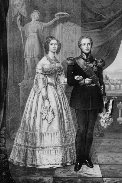Maria Anna Leopoldine of Saxony with her husband APFxsynnadene 23Sep07