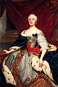 1750 Maria Antonia Walpurgis of Bavaria by ? (location unknown to gogm)