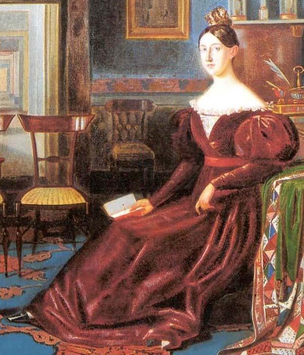 Maria Cristina di Savoia closeup