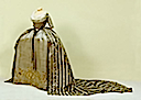 1790s Court dress worn by Maria Feodorovna from the front