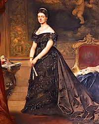 1868 (estimated) Queen Maria Henrietta