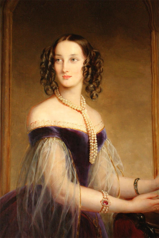 1841 grand duchess maria nikolayevna by christina robertson hermitage