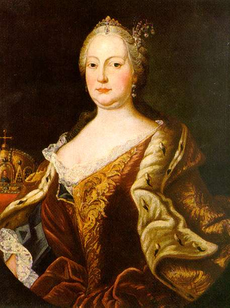 Maria Theresia Probably By Martin Van Meytens Location