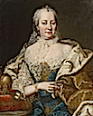 Maria Theresia by Martin van Meytens (location unknown to gogm)