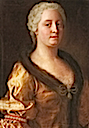 Maria Theresia in a relatively informal pose by ? (location unknown to gogm)