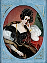 Maria Theresia of Savoy in pensive pose by ? (location unknown to gogm)