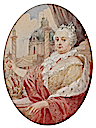 Maria Theresia watercolor by ? (location unknown to gogm)