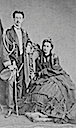 Maria Vittoria dal Pozzo (seated) and her husband, Amadeo