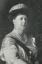 Maria Alexandrovna of Coburg dressed with Russian order sash and kokoshnik tiara