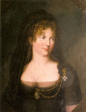 1801 Empress Maria Feodorovna, widow of Emperor Paul I by ? (Hermitage)