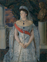 1911 Grand Princess Maria Pavlovna by Boris Mikhailovich Kustodiev (auctioned)