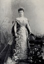 Maria Pavlovna in court dress