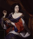 1672-1673 Marie Anne, née Mancini, Duchess of Bouillon, by Benedetto Gennari (National Portrait Gallery, London)