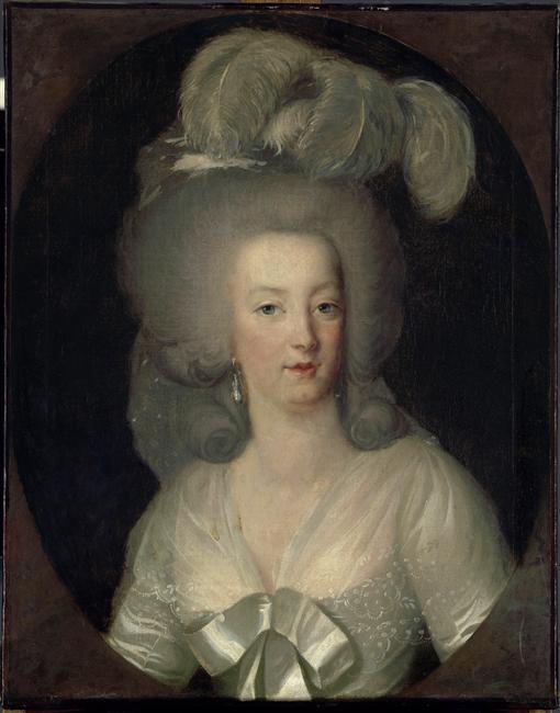 1784 marie antoinette wearing a white sheath dress by wilhelm bottner louvre grand ladies gogm. Black Bedroom Furniture Sets. Home Design Ideas