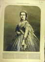 ca. 1865 Marie-Henriette print from The Illustrated London News