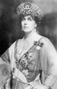 Marie of Romania wearing lattice tiara