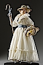 Marie-Antoinette playing a shepherdess at the Trianon figurine