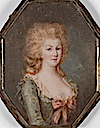 Marie-Antoinette wearing uncolored hair by François Dumont (Boris Wilnitsky)