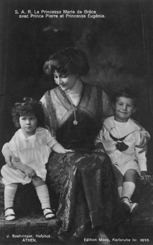 Marie Bonaparte and children great FDxMinnie 3Nov08 detint
