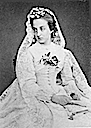 1864 Marie Isabelle Comtesse de Paris wedding dress